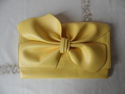 PRIMARK sárga masnis ridikül, borítéktáska