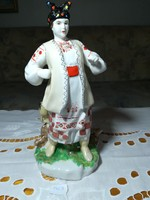 Orosz porcelán női szobor