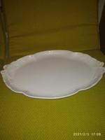 Fehér Herendi nagyméretű szervírozó tál(szalagtál)