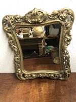 Barokk stílusú réz tükör