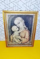 Gyönyörű, Hummel régi Madonna kép
