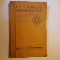 Stilisztika , és Olvasókönyv  !!  1929 !!!