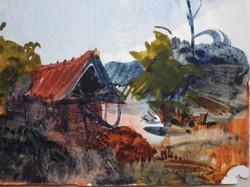 Istókovits Kálmán akvarell