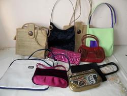 Régebbi női / lányka táska, ridikül csomag ( 10 db.)