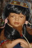 Eladó indián porcelán baba