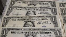 15 darab amerikai 1 dollaros 1935 ötös 24000 ft egybe