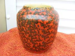 Retrokerámia váza Tófej? 1960-70-es évek