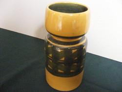 Retrokerámia  váza jelz Iparmúv váll