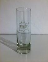 SZTÁR üdítős üvegpohár