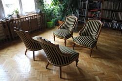 Neobarokk fotel 4 db