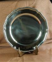 Antik Bordűrös  Ezüst Tálca 34 cm