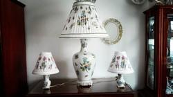 1 méteres Herendi QueenVictoria porcelán lámpa