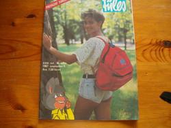 Füles újság 1987 ből képregénnyel KIÁRUSÍTÁS  1 forintról