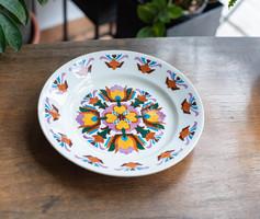 Gránit Kispest retro porcelán falitányér - jelzetlen falidísz