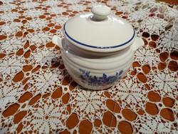 Fedeles sótartó, fűszertartó Gránit kék rózsás