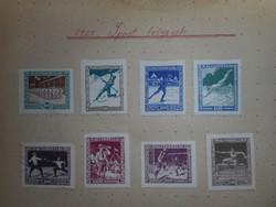 Bélyeg, 1925 sport sorozat 1 Ft-ról