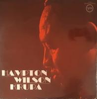 HAMPTON WILSON KRUPA  -  JAZZ LP  BAKELIT LEMEZ VINYL