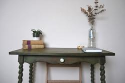 Vintage kisasztal/koloniál/felújított