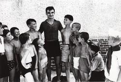 Kocsis Sándor a tatai edzőtáborban (1952)