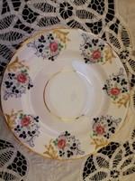 Eladó régi angol porcelán Rosina virágos porcelán sütis tányér nagy méret!