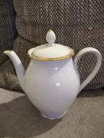 Seltmann Bavaria porcelán kávéskanna, arany szegéllyel.