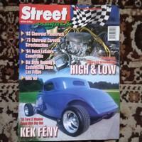 Street magazin  2002 / 2. Szám  ! Jó állapotban !!!