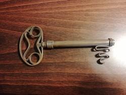 Réz kulcs alakú dugóhúzó