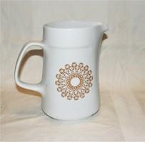 Retro porcelán kancsó Gabriella mintás Alföldi porcelán