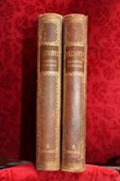 Vázsonyi beszédei és írásai I-II. kötet (1889 - 1926), félbőr kötésben, I-II. kötet