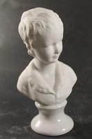 Nápolyi ritka porcelán szobor 386