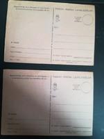 Tábori levelezőlap