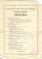 Pilinszky Zsigmond operaénekes és Könyves Tóth Erzsi aláírása 1936 Hajtásnál szakadás