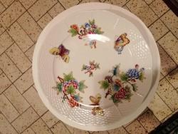 Herendi Viktória mintás, 25.5 cm átm. tányér