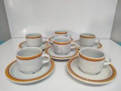 Alföldi porcelán mokkás/kávés készlet