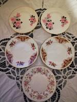 Eladó régi porcelán angol sütis tányérok!