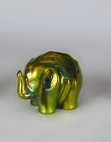 Zsolnay eozinos elefánt