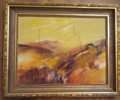 Csuta György kortárs festő képcsarnokos, gyönyörű alkotása