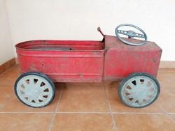 Nagyon régi RETRO pedálos autó ( NEM MOSZKVICS)
