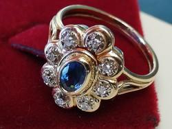 Régi arany gyűrű (14k)