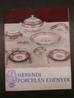 Molnár László - Herendi porcelán edények
