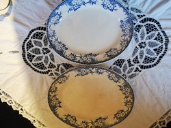 Eladó régi porcelán skót  kék mintás kínáló tálak 2 db!
