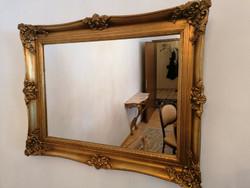 Blondelkeretes barok tükör 94x65cm