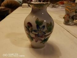 Viktória mintás miniatűr váza