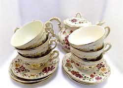 Zsolnay pillangós teás készlet (ZAL-BI40640)