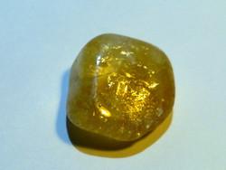 Citrin drágakő arany belső tüzű különlegesen szép természetes kezeletlen
