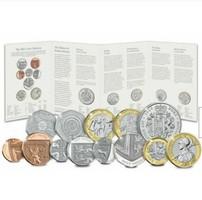 Anglia - Angol teljes érmesor, 13 db, 2021 BUNC, Royal Mint csomagolásban