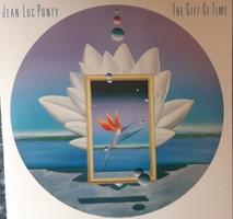 JEAN - LUC PONTY : THE GIFT OF TIME  -  JAZZ LP   BAKELIT LEMEZ  VINYL