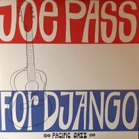 JOE PASS : FOR DJANGO - RITKA JAZZ LP   BAKELIT LEMEZ   VINYL