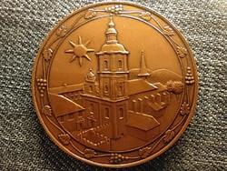 Gyöngyös város 675 éves 1334-2009 bronz érem (id44824)