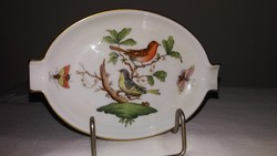 Herendi rotschild mintás porcelán hamutál